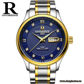 Đồng hồ nam ONTHEEDGE 025 dây thép cao cấp không gỉ (xanh) thumbnail