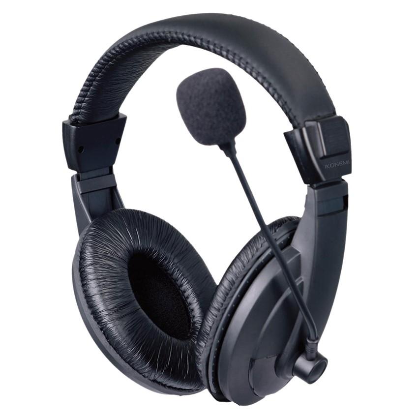 Tai nghe chụp tai kèm mic Ikonemi HS22 (Đen)