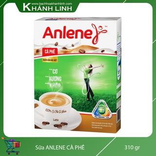 Sữa Anlene xanh cafe hộp giấy 310g