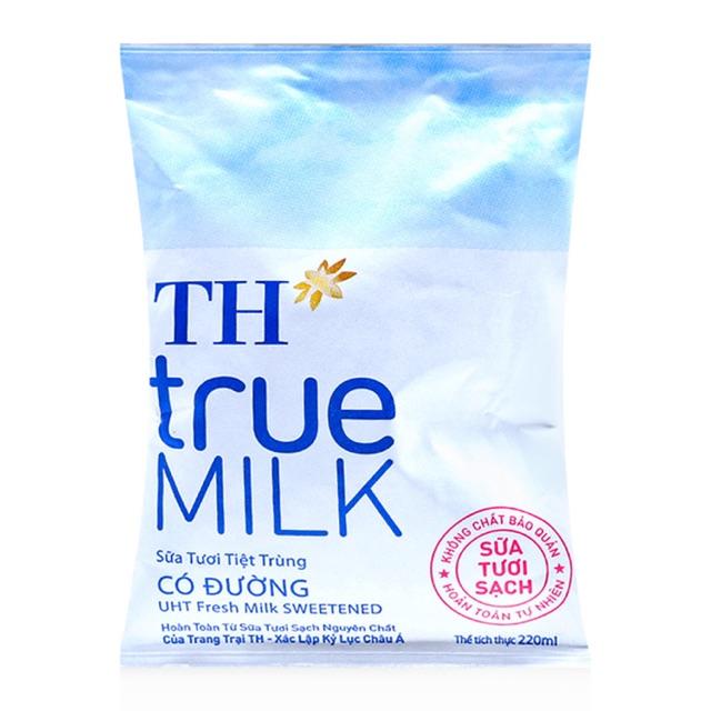 Sữa tươi tiệt trùng TH true milk 220ml(có đường,Ít đường,Không đường) - 2632128 , 225261189 , 322_225261189 , 6000 , Sua-tuoi-tiet-trung-TH-true-milk-220mlco-duongIt-duongKhong-duong-322_225261189 , shopee.vn , Sữa tươi tiệt trùng TH true milk 220ml(có đường,Ít đường,Không đường)