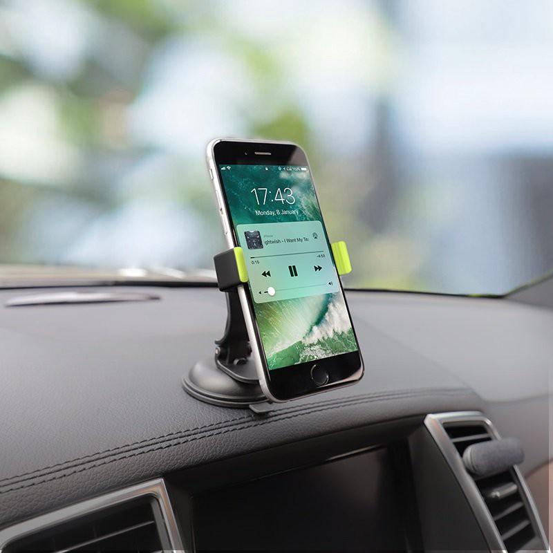 Giá đỡ điện thoại trên ô tô hoco CA40 - kẹp điện thoại trên ô tô hoco CA40