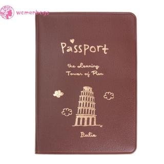 Bao Da Passport Đa Năng Kiểu Dáng Đơn Giản