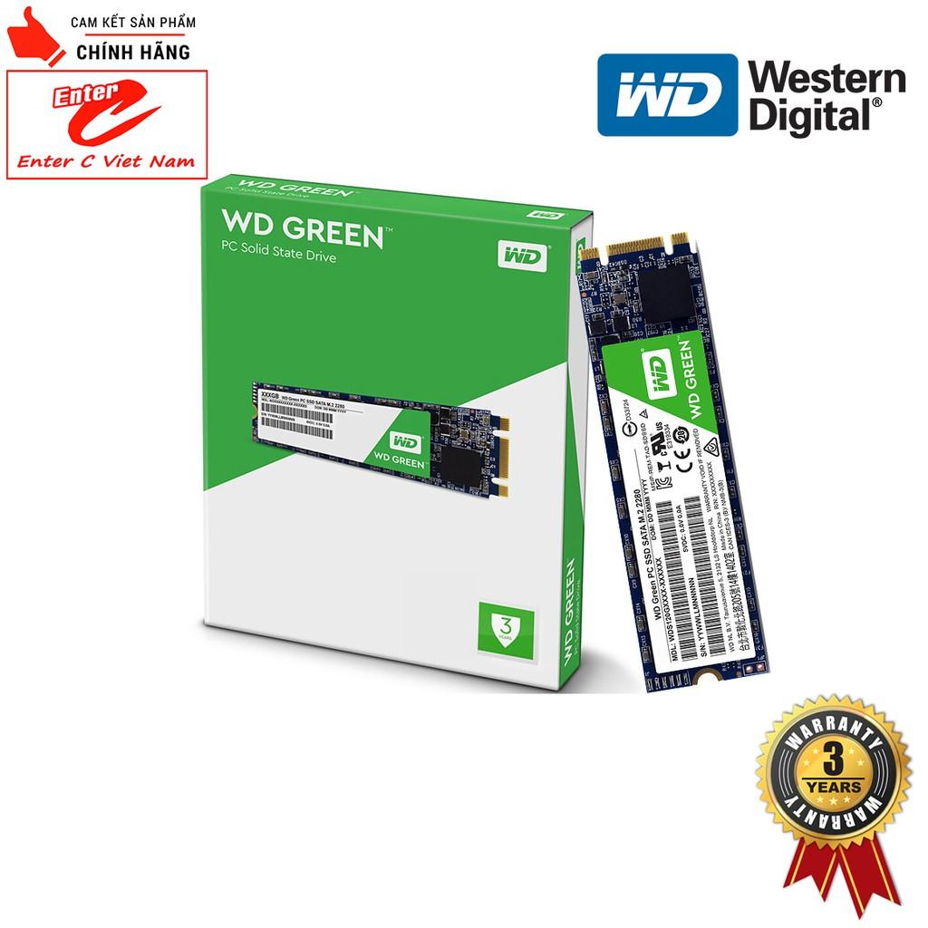Ổ cứng SSD WD Green 120GB M.2 2280 SATA III