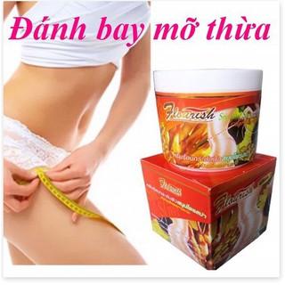 [TẶNG 1 THƯỚC DÂY] Kem tan mỡ bụng gừng ớt FLOURISH Thái Lan 500ml giúp mang lại vòng eo thon gọn, hông đùi săn chắc thumbnail