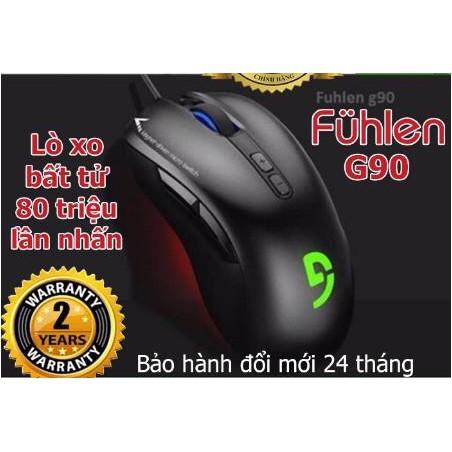 Chuột chuyên game Fuhlen G90 – mới 100% bảo hành 2 năm Giá chỉ 287.000₫