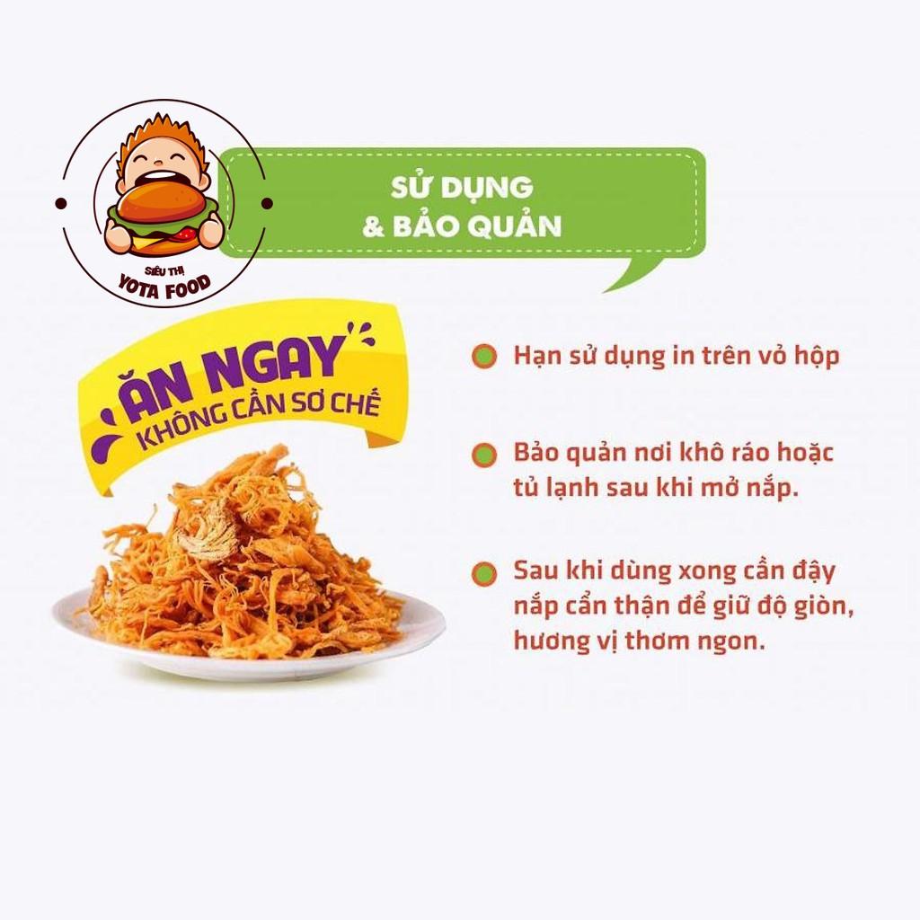 [Mã GRO2405 giảm 10% đơn 250K] Khô gà lá chanh Yotafood 1Kg (Giòn ngon - Đậm vị) | Đồ ăn vặt hcm