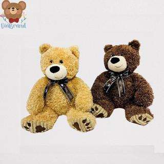 Gấu Bông Teddy Lông Xù Cột Nơ Cực Yêu 32cm [ Diabrand ]