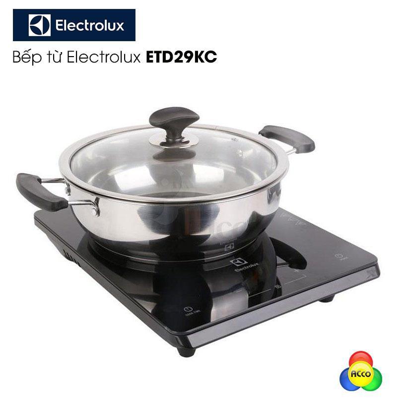 Bếp từ Electrolux ETD29KC 2000W chính hãng bảo hành toàn quốc