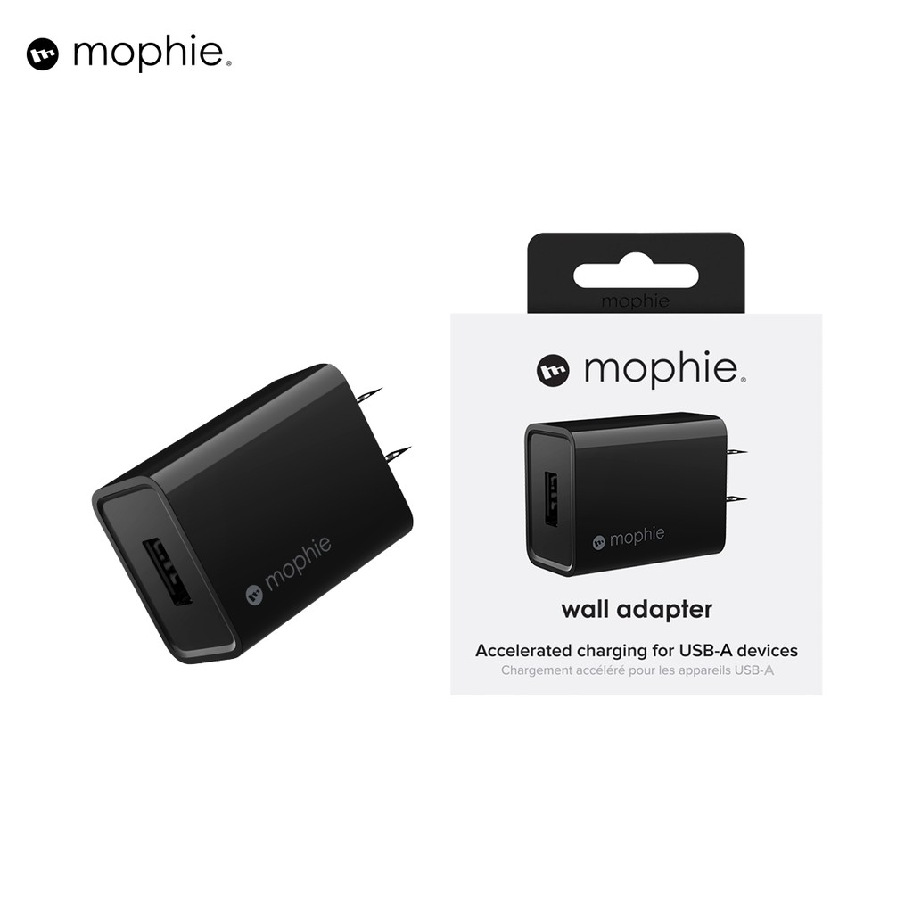 Sạc MOPHIE 10W USB-A sạc nhanh cho iPhone/iPad