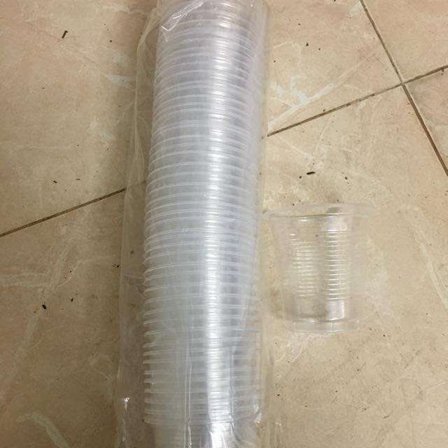 50 cốc nhựa 140ml (không nắp)