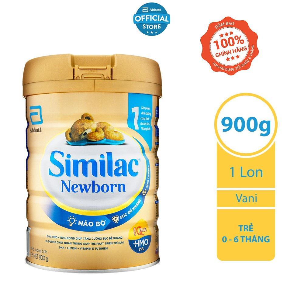 Sữa bột Similac Newborn (HMO) 900g