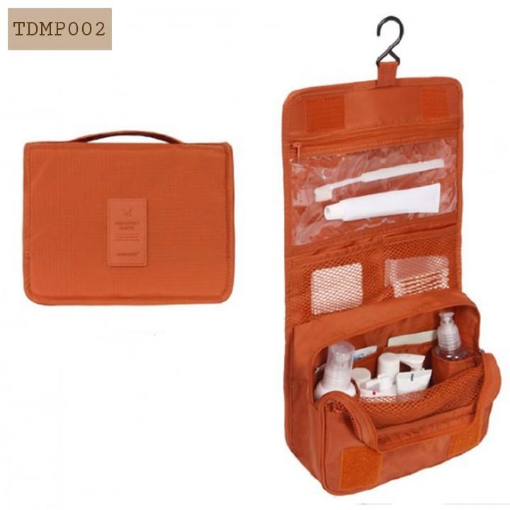 Túi đựng mỹ phẩm có móc treo túi đựng đồ trang điểm cá nhân đi du lịch Travel TDMP002