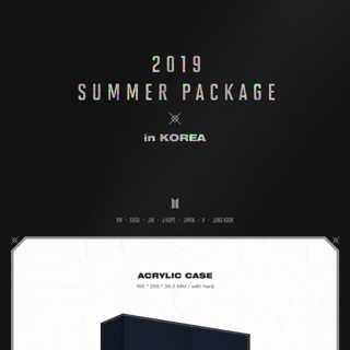 BTS SUMMER PACKAGE 2019