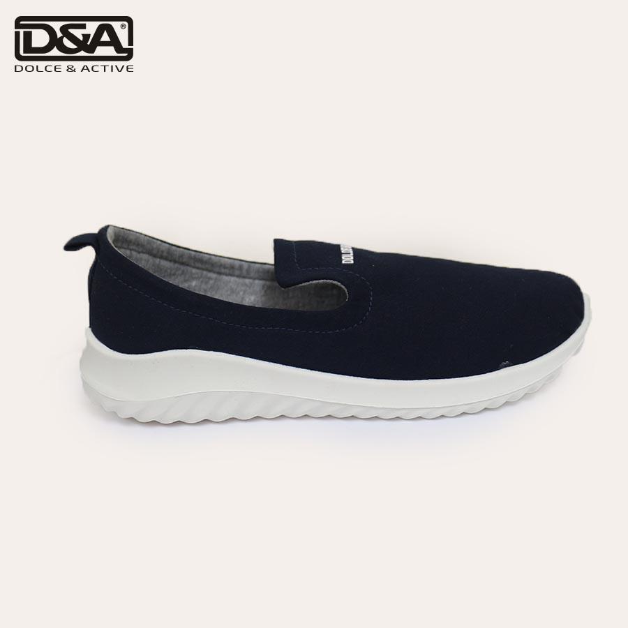 Giày slipon nữ D&A EPL1902 xanh