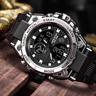 Đồng hồ nam điện tử thể thao SANDA SA01 chống nước cực bền kiểu dáng thời trang phong cách mới  - Đồng Hồ Quốc Tế