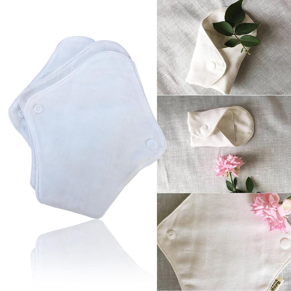 Bamboo Cloth Waterproof Slim Feminine Hygiene Washable Clean Reusable Mama Menstrual Pad