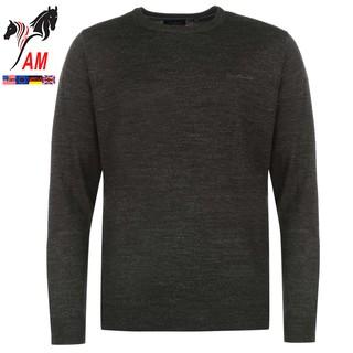 Áo Len Nam Pierre Cardin Mock V Neck Jumper ( Size EU – Xách Tay UK )