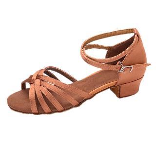 Giày cao gót nhảy latin xinh xắn cho bé gái