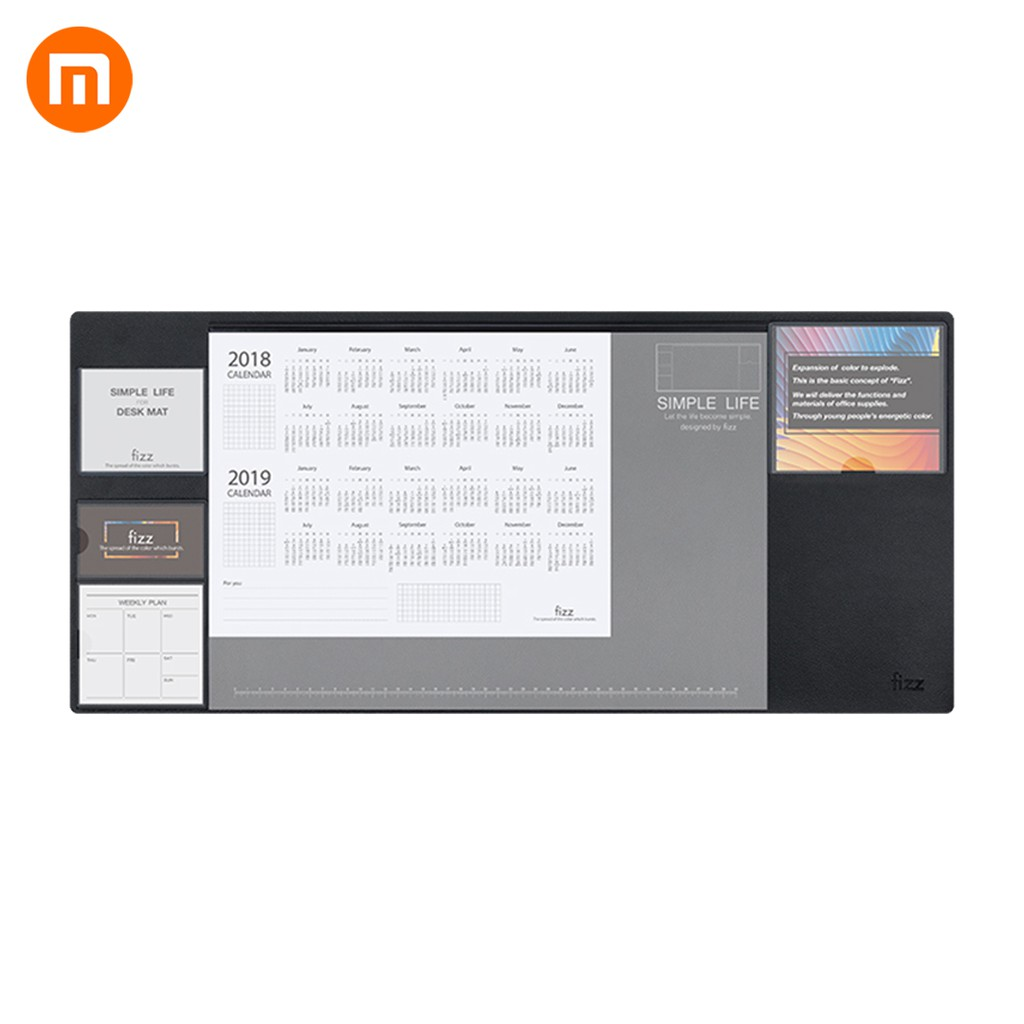 Xiaomi Mijia Fizz Multi Office Table Mat Weekly Planner Desk File Organizer Table Storage Memo Mat Non-slip Learning Pad Giá chỉ 473.000₫