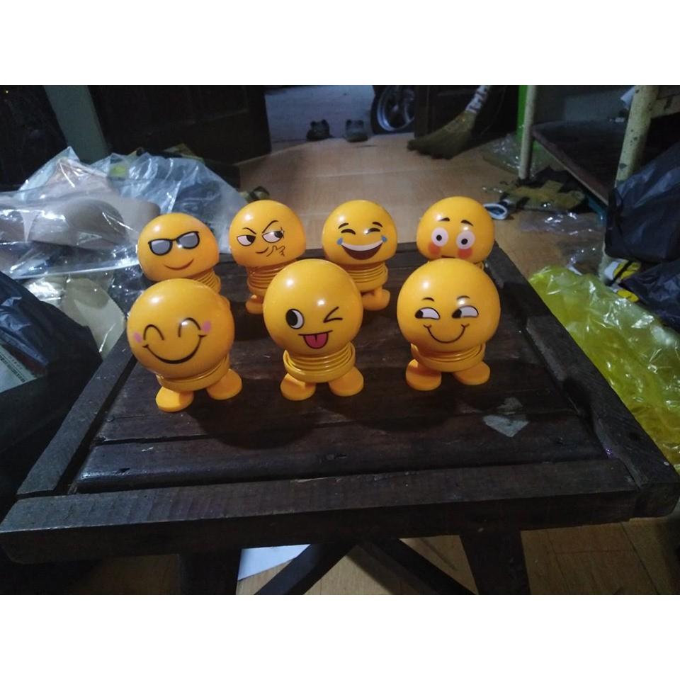 Sỉ thú nhún mặt cười emoji có đèn nháy( hàng loại 1)