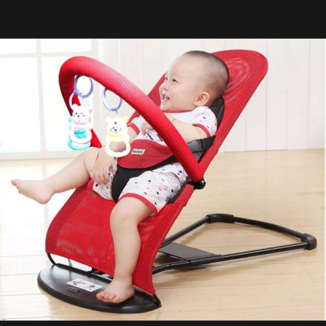Ghế rung, nhún cho bé ( tặng kèm đồ chơi cho bé )