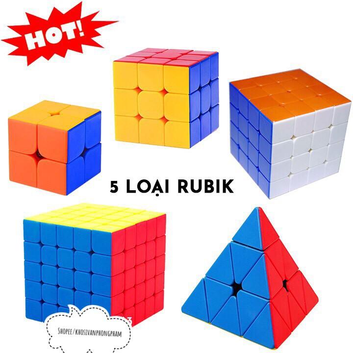 [GIÁ SẬP SÀN] Rubik đẹp, xoay trơn, không rít, độ bền cao, Rubik 2x2,3x3,4x4,5x5 [GIÁ BUÔN]