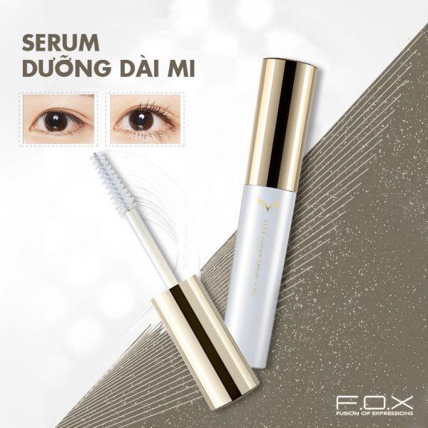 Combo FOX Mascara siêu dày mi (8ml) và Serum dưỡng dài mi (6.5ml) | Shopee  Việt Nam