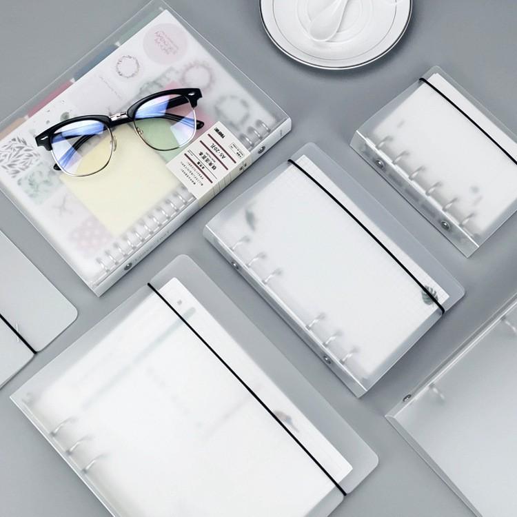 Sổ còng A5 bìa còng sổ còng cứng bìa dẻo bullet journal planner binder sticker