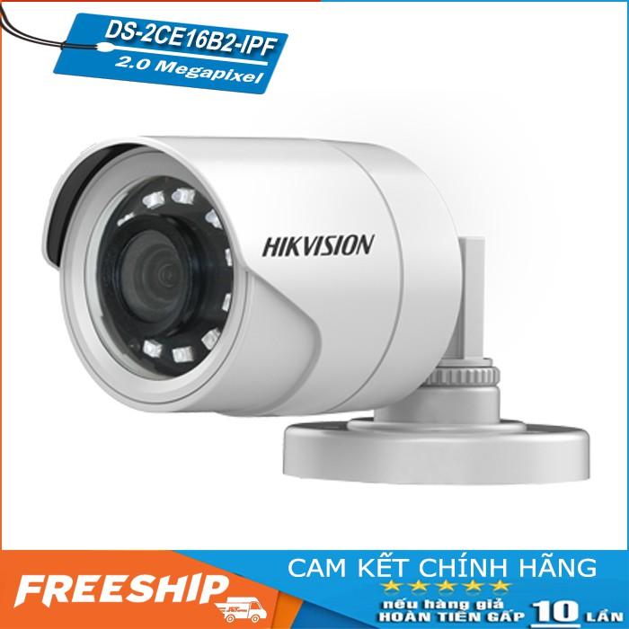 Camera 4-in-1 HIKVISION DS-2CE16B2-IPF Full 1080P - Hàng Chính Hãng, Bảo Hành Điện Tử 24 Tháng