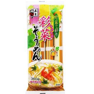 Mỳ Somen rau củ ngũ sắc cho bé từ 9 tháng 360gr-Nhật thumbnail