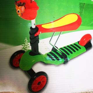 Xe chòi chân scooter 2 chức năng