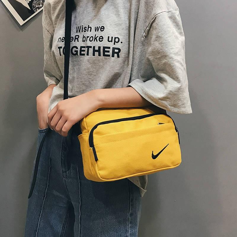 สาวผ้าใบกระเป๋าหญิงกระเป๋า messenger ได้