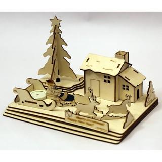 Mô hình ghép gỗ