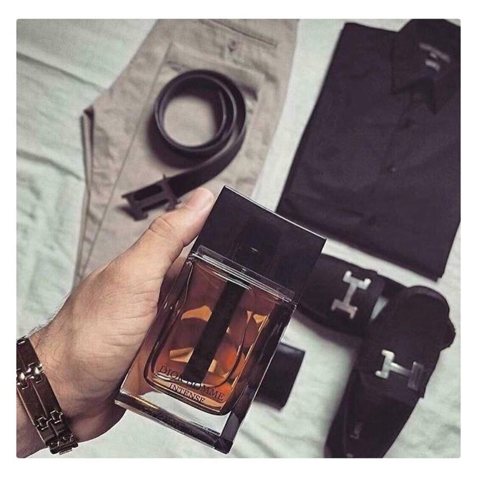 Nước Hoa Dior Homme Intense 10ml, nước hoa nam quý phái sang trọng mã MP17