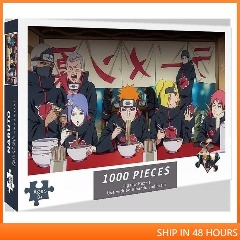 🌟Trong Kho🌟Đồ Chơi Lắp Ráp 1000 Mảnh Ghép Nhỏ Hình One Piece Naruto Cho Người Lớn 75 X 70cm@steam96.vn