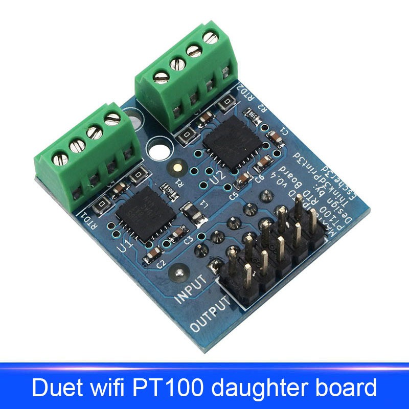 Daughter Board PT100 Allowing Two Temperature Sensors For