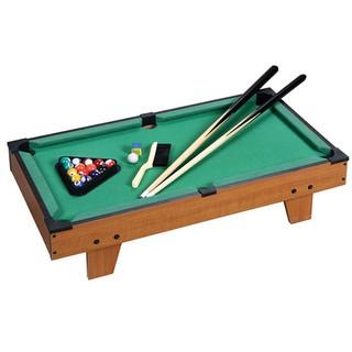 Đồ chơi Bàn Bida 16 bi bóng ăn ấp phê từ cơ và lơ kèm bàn chải và khung xếp bi
