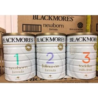 [CHÍNH HÃNG] Sữa Blackmores Úc 900g số 1,2,3 – Date 2022