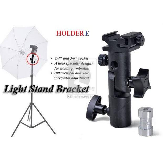 FL36 Adapter cho tripod và đèn flash Hot Shoe Holder E (Đen)