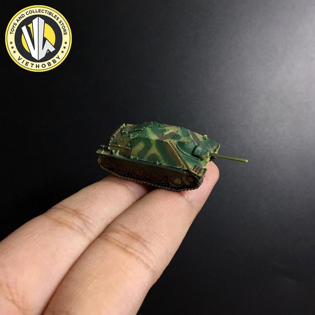 Mô hình quân sự tỉ lệ 1:144 Takara Tomy - Xe tank Hetzer Light Tank Destroyer Three Colour Camouflage