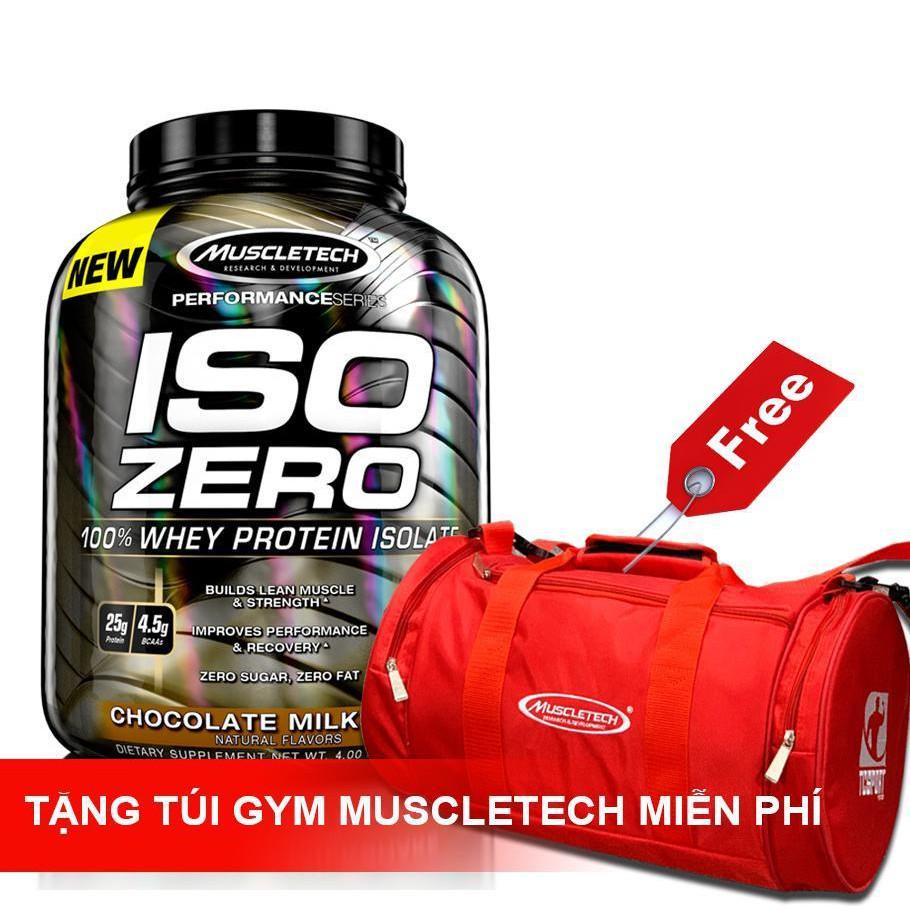 Sữa Tăng Cơ Iso Zero Hộp 4lbs Tặng Kèm Túi Gym