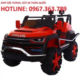 Ô tô xe điện Hummer KP 6699 đồ chơi vận động cho bé 4 động cơ 12V7,5AH 2 ghế