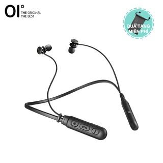 Tai nghe OI không dây âm thanh nổi Bluetooth 5.0 màu đen thời gian phát 5 tiếng