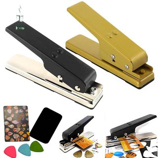 DD✈ Custom Guitar Pick Punch Plectrum Press Plastic Card Hole Punch Picks Maker Cutter DIY