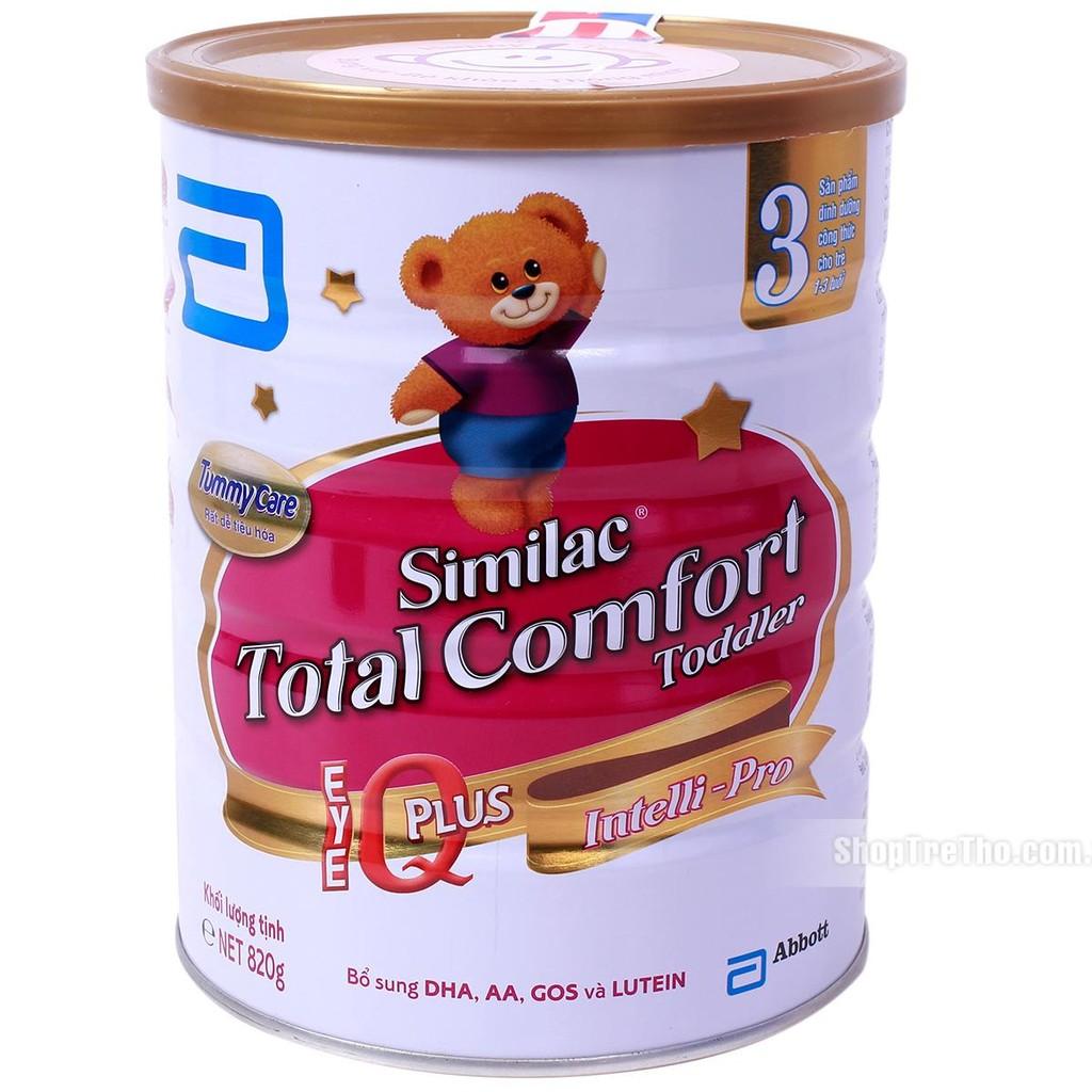 Sữa Similac Gain Total Comfort số 3 - 820g (1-3 tuổi) - 2872895 , 79433971 , 322_79433971 , 549000 , Sua-Similac-Gain-Total-Comfort-so-3-820g-1-3-tuoi-322_79433971 , shopee.vn , Sữa Similac Gain Total Comfort số 3 - 820g (1-3 tuổi)