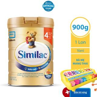 [Tặng Đàn Tơ Rưng Cho Bé] Sữa Bột Similac 4 900g Lon thumbnail