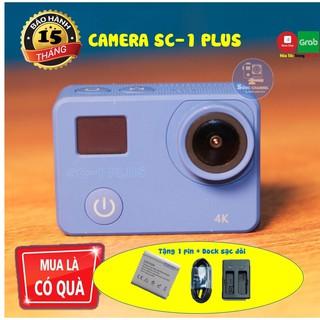 Yêu ThíchCamera Hành Trình Xe Máy SC-1 PLUS [Màn Hình Cảm Ứng] Tặng Kèm 1 Pin Và Dock Sạc Đôi