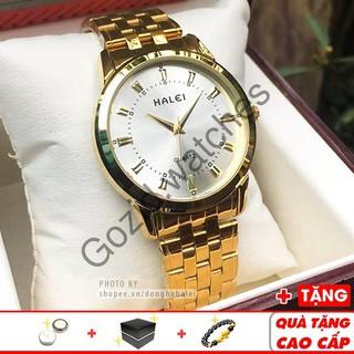 Đồng hồ nam Halei 8686 Gold sang trọng lịch lãm thời trang đẳng cấp -Gozid.watches