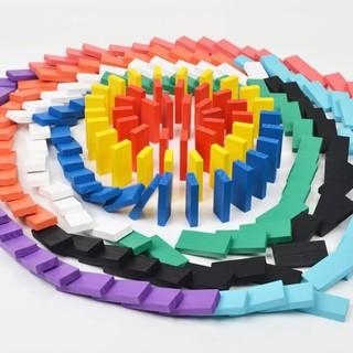 Domino sắc màu 120 thanh gỗ