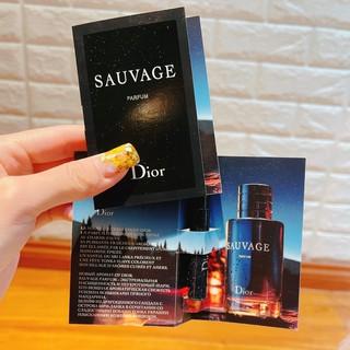 ( mẫu thử ) vial Sauvage 1ml thumbnail